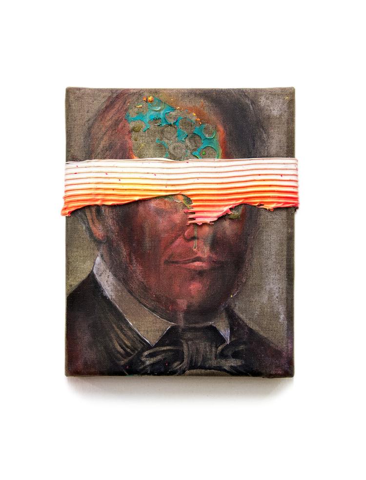 'The Protestor I ', 2020, ett konstverk av Bergthor Morthens