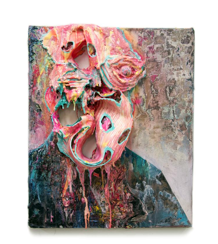 'The Protestor II ', 2020, ett konstverk av Bergthor Morthens