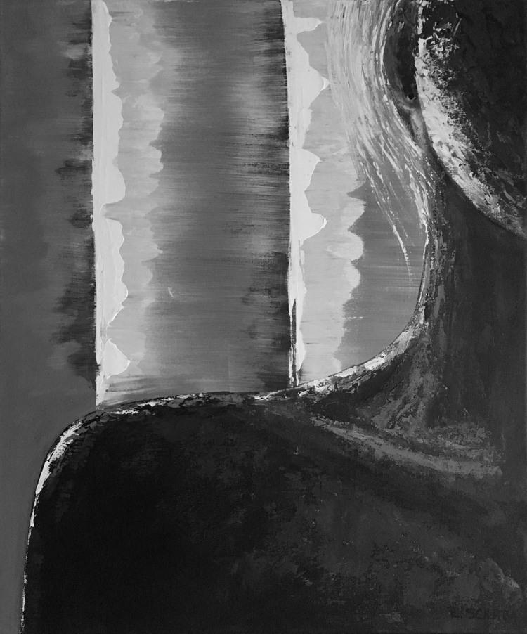'When the light finds its way', 2017, ett konstverk av Roxana Scraba