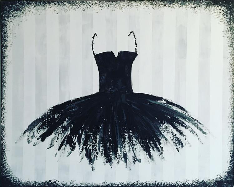 'Black swan', 2017, ett konstverk av Roxana Scraba