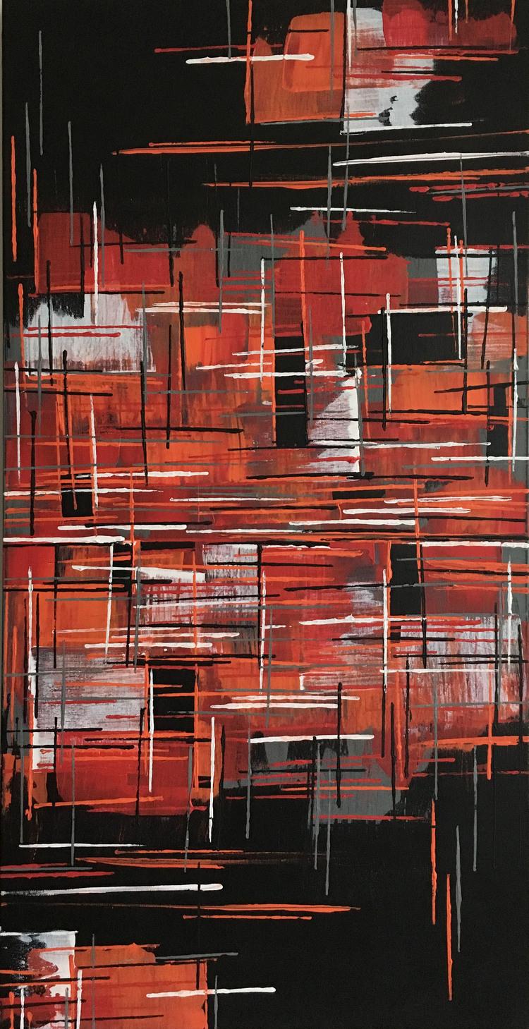 'Red light', 2016, ett konstverk av Roxana Scraba