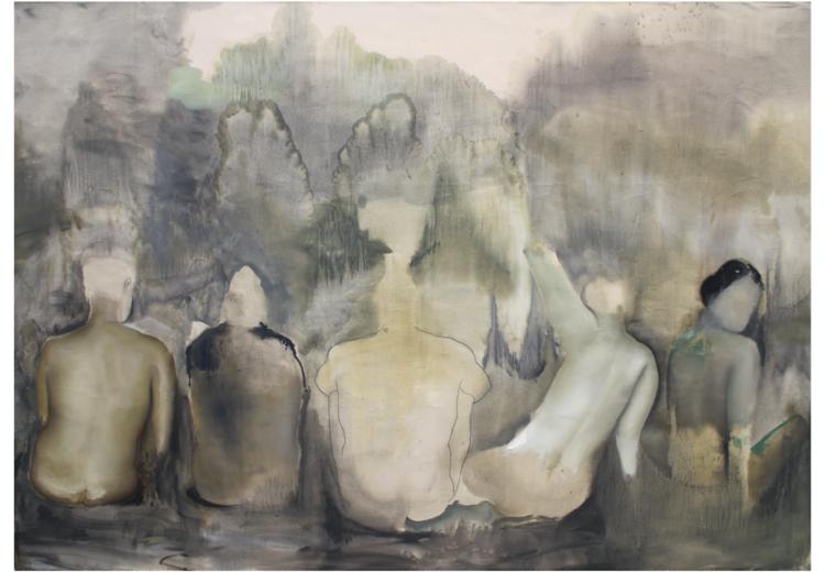 'Tillsammans', 2018, ett konstverk av Sixten Sandra