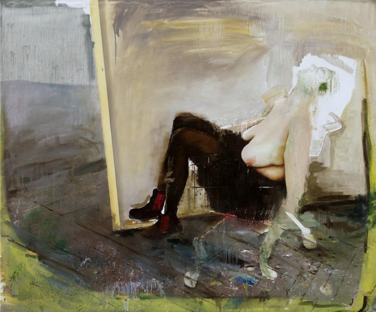 'Deeper Fountain', 2019, ett konstverk av Sixten Sandra
