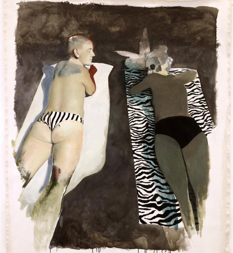 'Varmt berg', 2020, ett konstverk av Sixten Sandra
