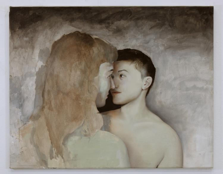 'Uppe i Ulven', 2018, ett konstverk av Sixten Sandra
