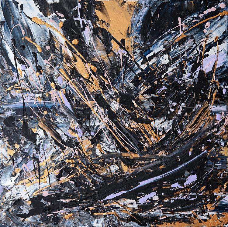 'Night Abstracts', 2019, ett konstverk av Julia Fjelddalen