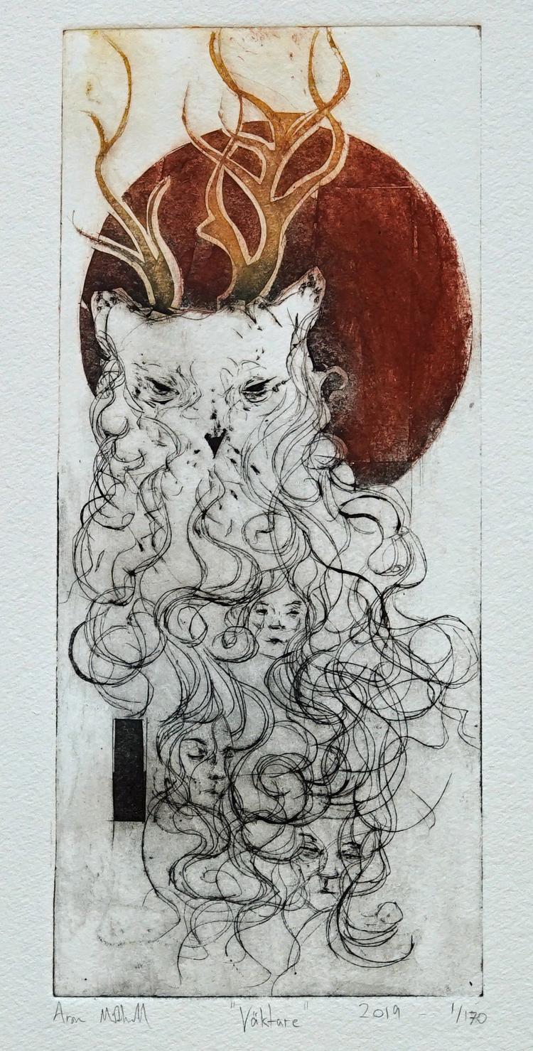 'Väktare', 2020, ett konstverk av Aron Midhall
