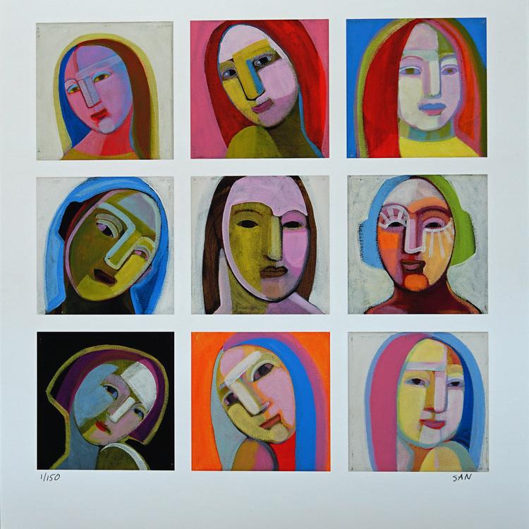 'Porträtt', 2019, ett konstverk av San Lundberg Vikström