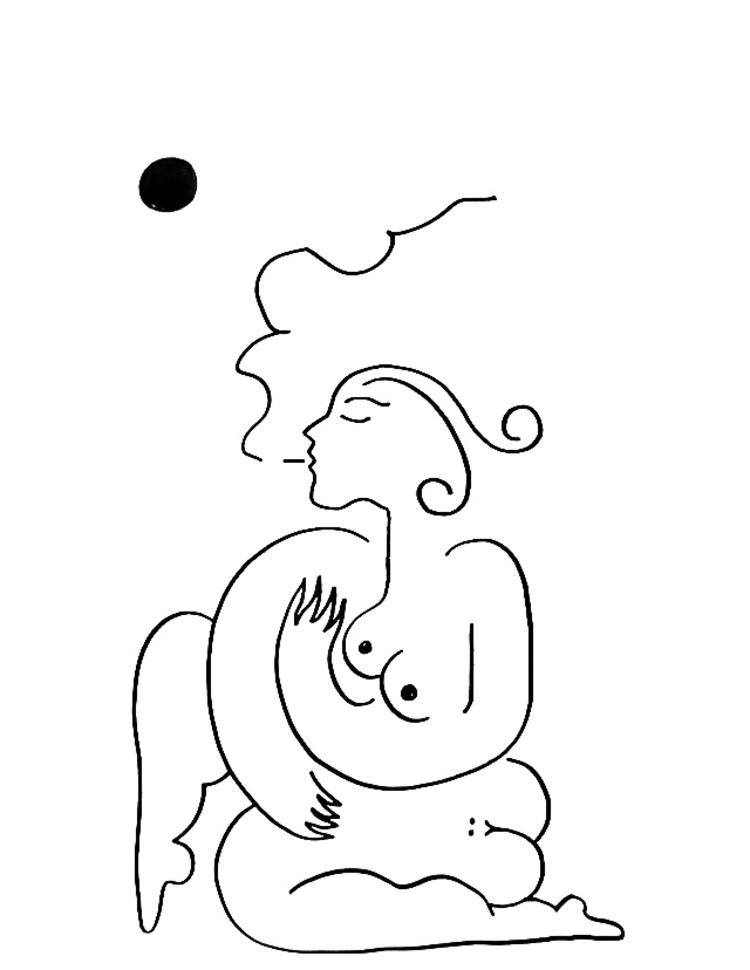 'Sol #2', 2019, ett konstverk av Alexandra Karpilovski