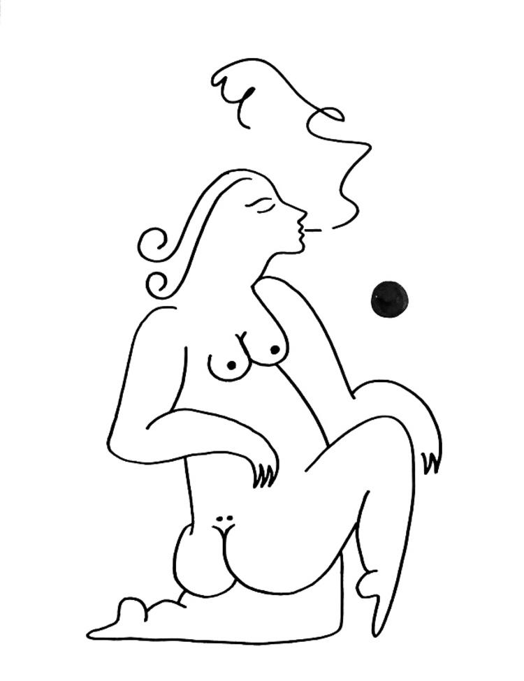 'Sol #3', 2019, ett konstverk av Alexandra Karpilovski