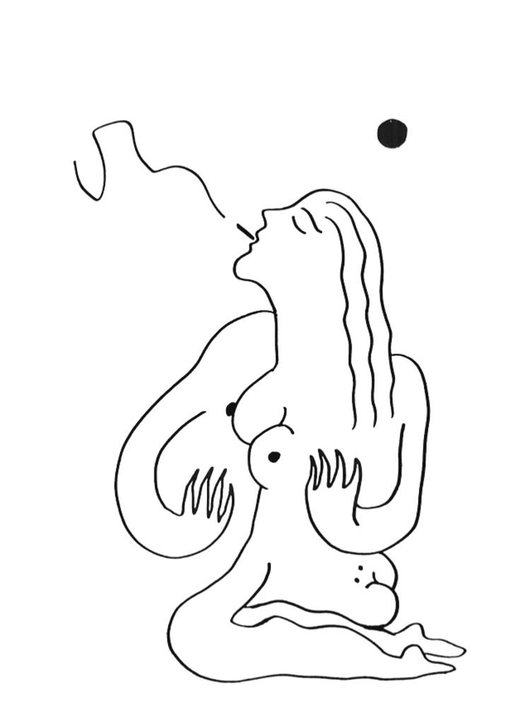 'Sol #6', 2019, ett konstverk av Alexandra Karpilovski