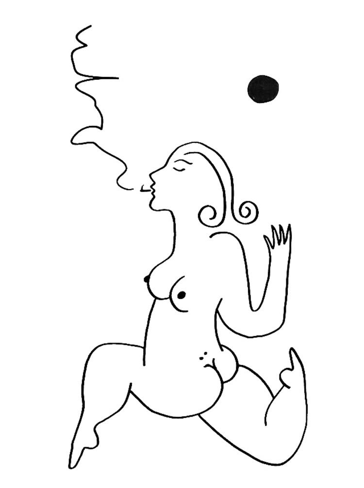 'Sol #9', 2019, ett konstverk av Alexandra Karpilovski