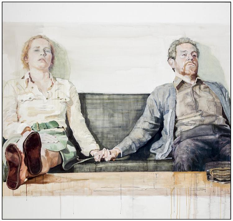 'Utan Titel 1', 2020, ett konstverk av Åsa Landström