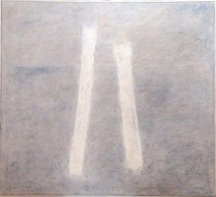 'Pågående process, ett vågspel I', 2020, ett konstverk av Iréne Hansson