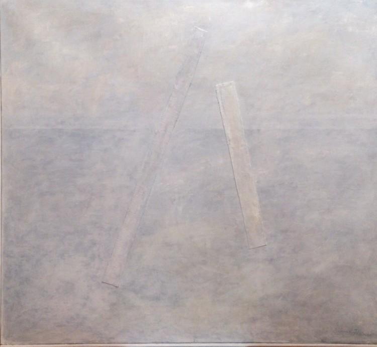 'En process, ett vågspel II ', 2020, ett konstverk av Iréne Hansson