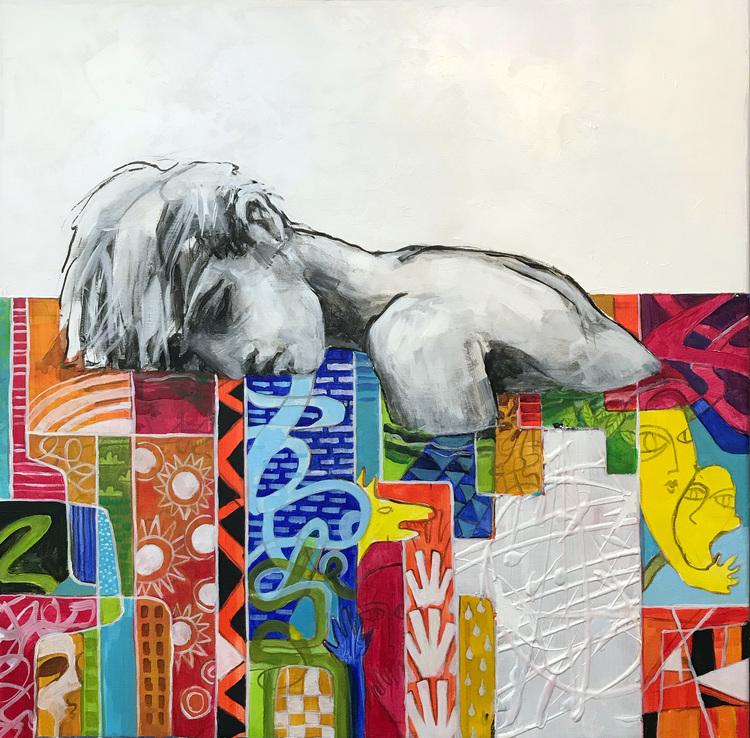 'Sweet dreams', 20219, ett konstverk av Kicki Edgren