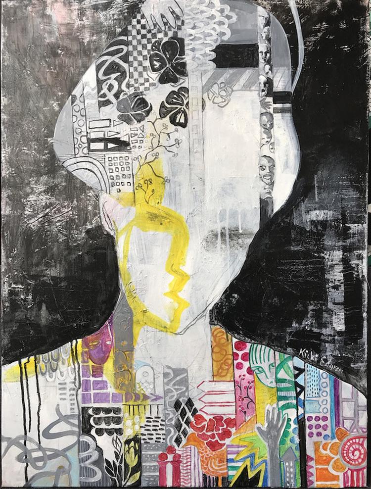 'Soul', 2019, ett konstverk av Kicki Edgren