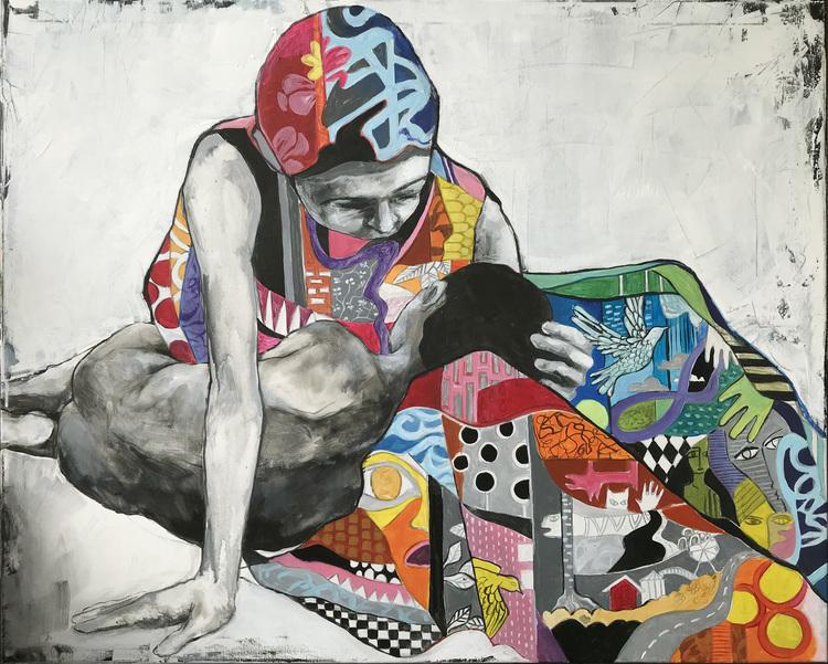 'Mother', 2019, ett konstverk av Kicki Edgren