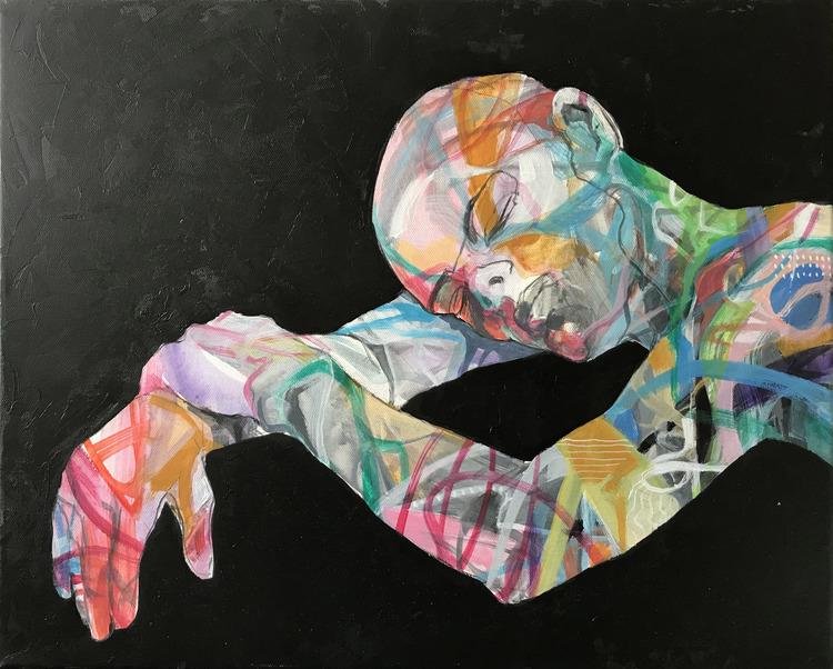 'Sleep', 2019, ett konstverk av Kicki Edgren