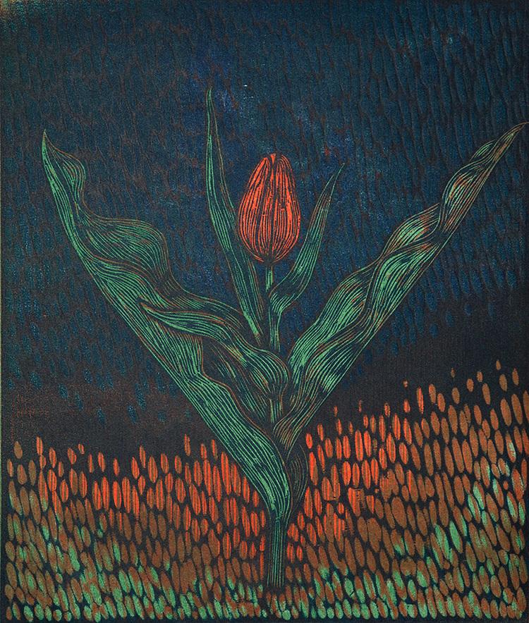 'Tulpan', 2020, ett konstverk av Peter Ern