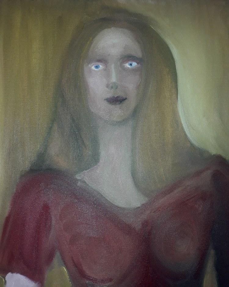 'Mary', 2020, ett konstverk av Tero Hollanti