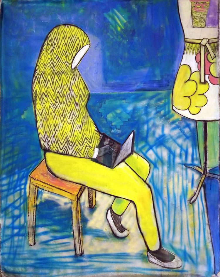 'Kontakt', 2020, ett konstverk av Gertrud Alfredsson