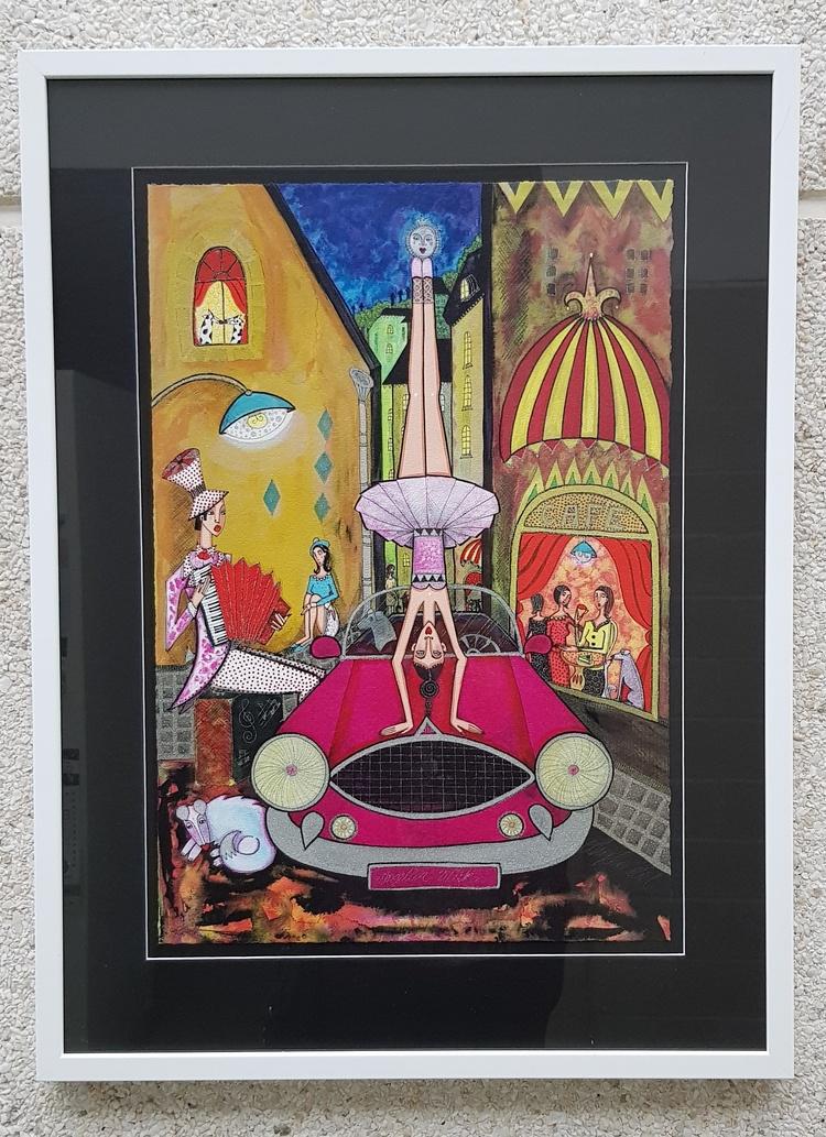 'Ballerina', 2019, ett konstverk av CarArt