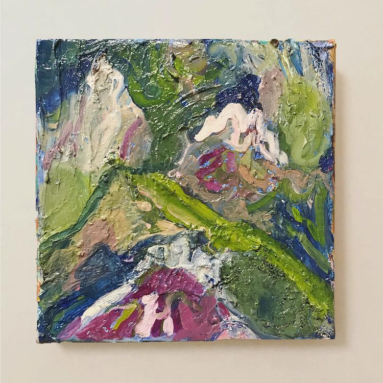 'Furka 1', 2020, ett konstverk av Lisa Wigren