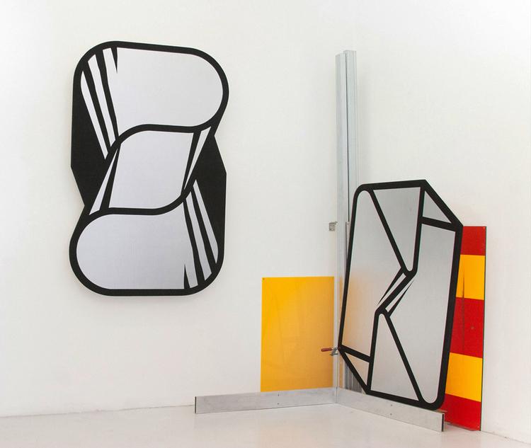 'IMAGES AS OBJECTS AND OTHER STUFF', 2015, ett konstverk av Örjan Wallert