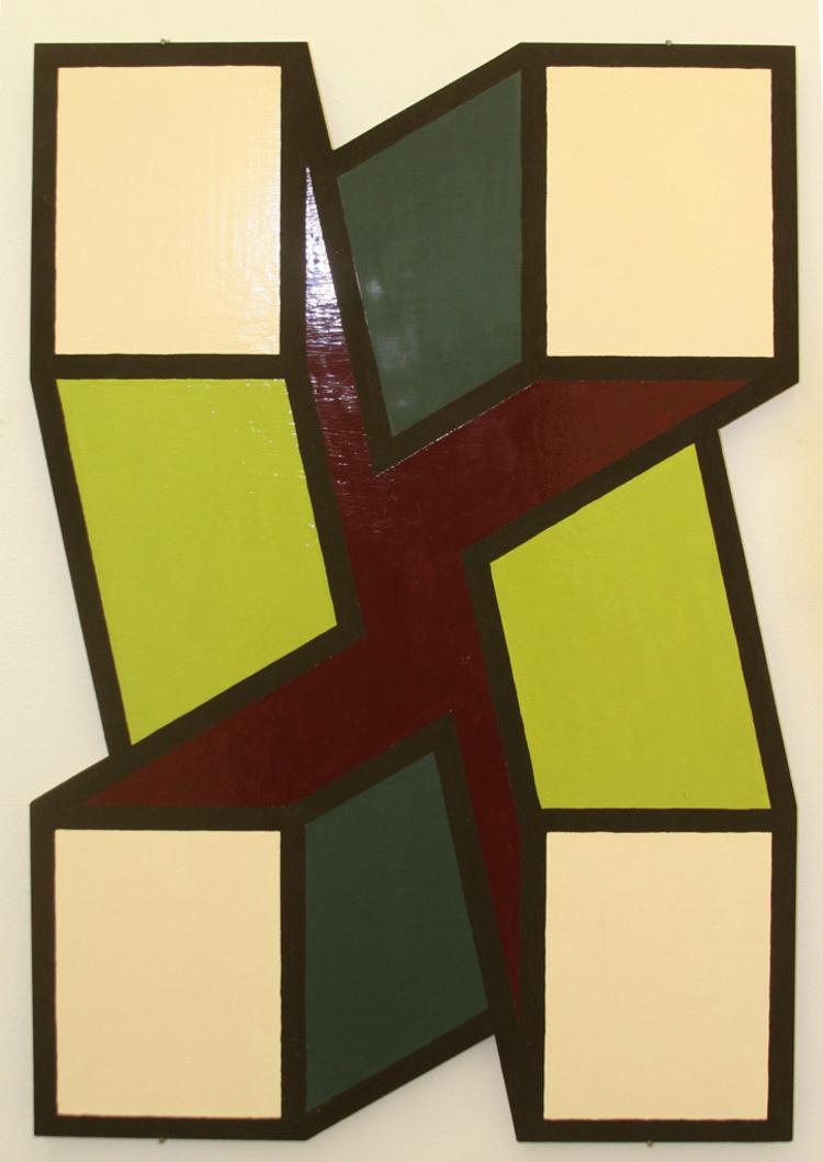 'X_DYNAMIC', 2012, ett konstverk av Örjan Wallert