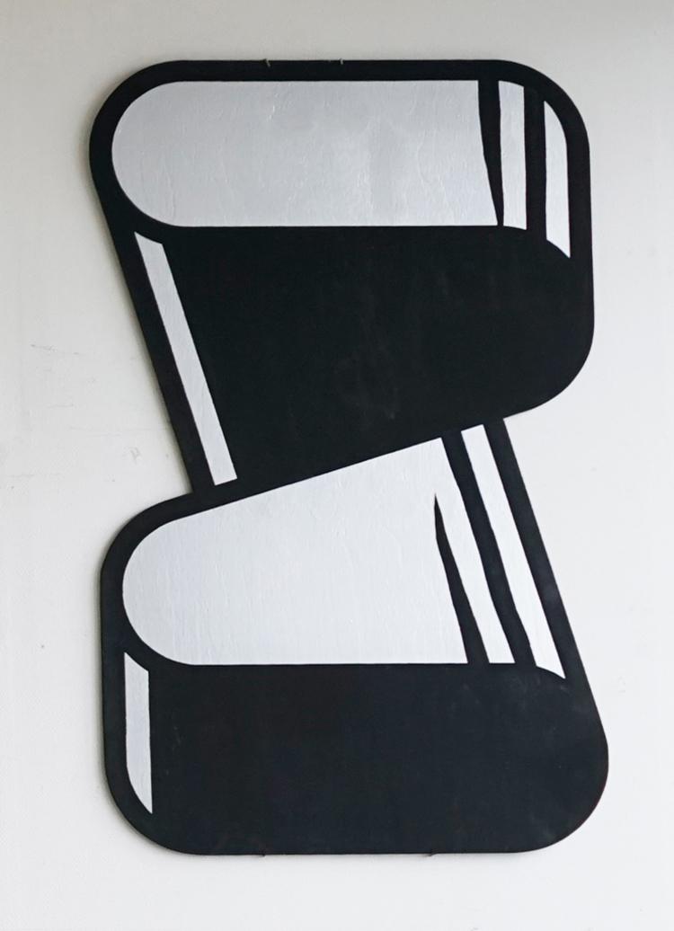 'FLAT CONSTRUCTION', 2017, ett konstverk av Örjan Wallert