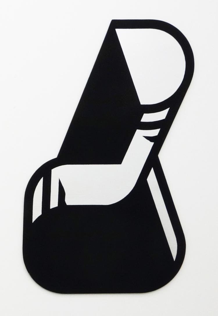 'OBJECT-LIKE PAINTING', 2018, ett konstverk av Örjan Wallert