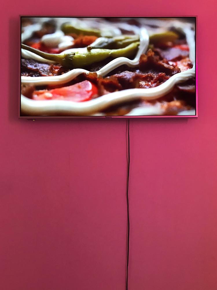 'Kebabpizza Special, Pizzeria Italia', 2020, ett konstverk av Dan Lageryd