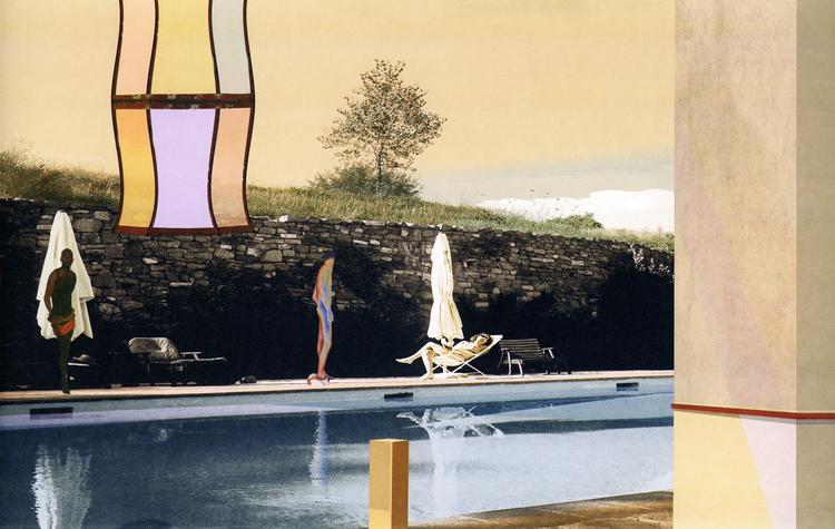 'Lyktan vid poolen, état III', 2018, ett konstverk av Nils-Erik Mattsson