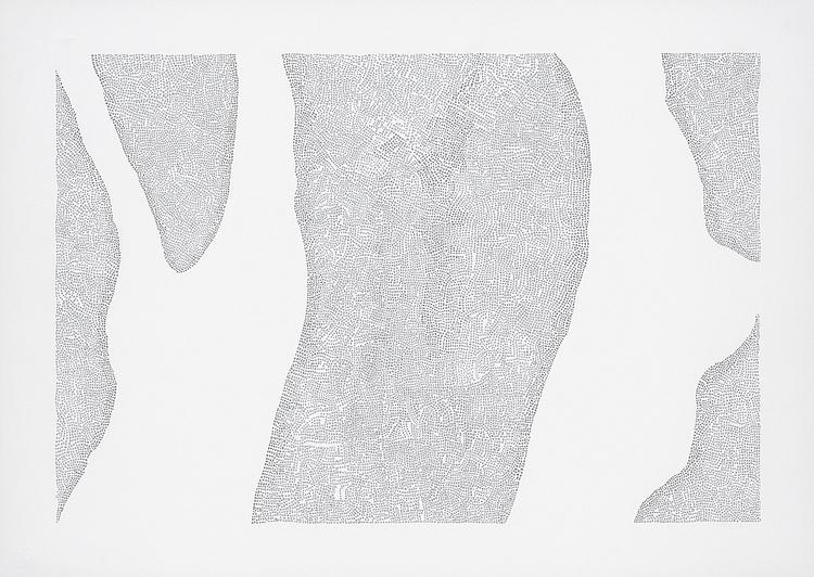 'Typer och förekomster 5', 2020, ett konstverk av Tobias Sjödin