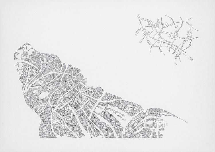 'Typer och förekomster 2', 2013, ett konstverk av Tobias Sjödin
