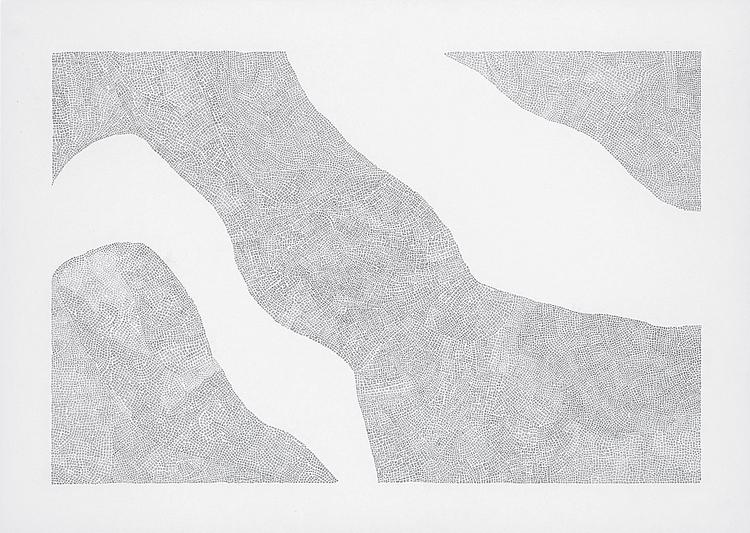 'Typer och förekomster 3', 2013, ett konstverk av Tobias Sjödin
