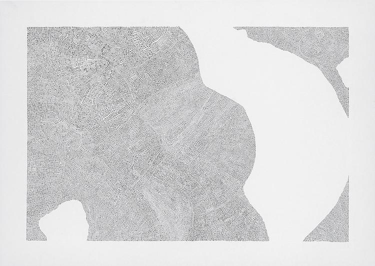'Typer och förekomster 4', 2013, ett konstverk av Tobias Sjödin