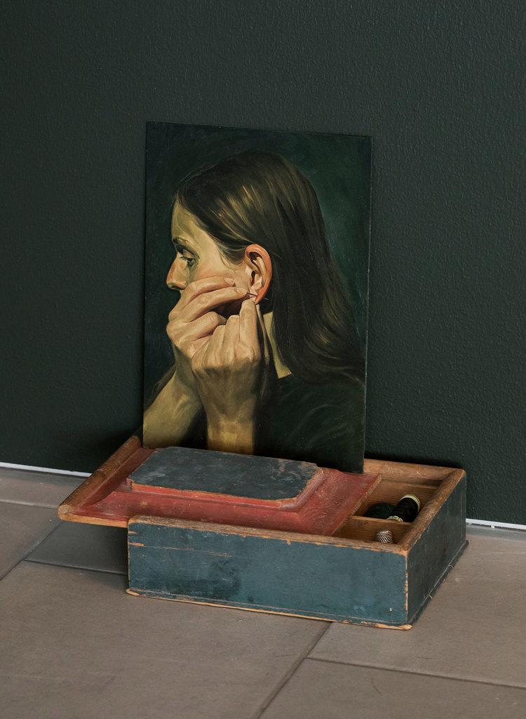 'Piercer', 2020, ett konstverk av Niklas Asker