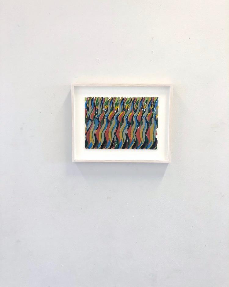 'Utan titel', 2019, ett konstverk av Niklas Karlsson